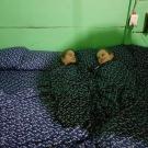 dzieci w pościeli w Xpujil